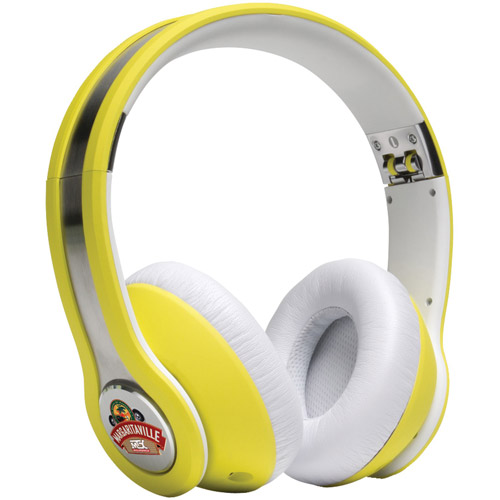 Margaritaville On-ear Monitor Headphones with Microphone