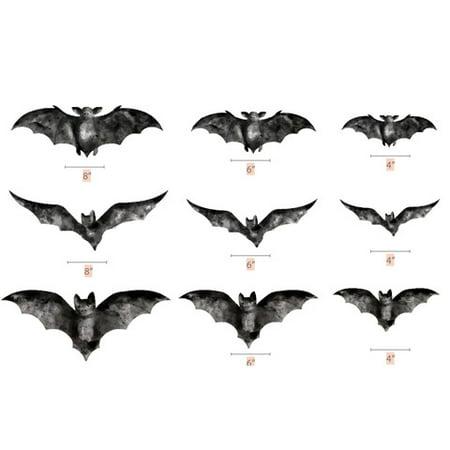 Darice Martha Stewart Crafts Die Cut Chipboard Bats Assorted Sizes - Martha Stewart Halloween Party