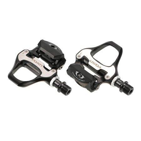 Lixada Road Bike Pedals SPD-SL Single-sided Clipless Bicycle 6 Degree Float Pedals Biking Cycling Pedal Clip-in