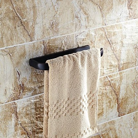 Beelee Ba7411b Bath Towel Holder Hand Ring Hanging Hanger Bathroom Accessories Contemporary Hotel Square