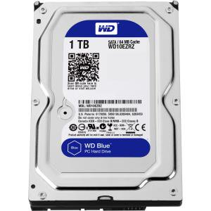 Wd Wd10ezrz Wd Blue 1 Tb 3 5 Inch Sata 6 Gb S 5400 Rpm Pc Hard Drive   Sata   5400   64 Mb Buffer   Blue