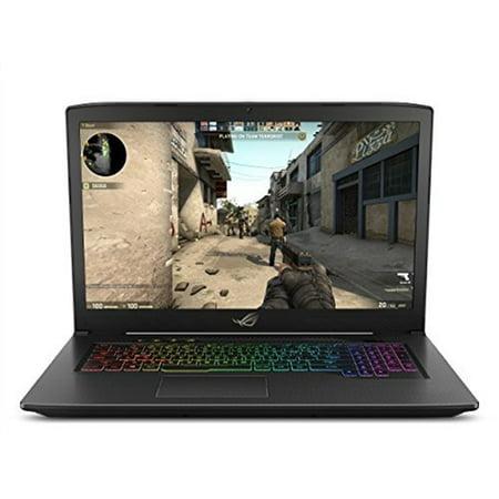 "Asus GL703GEES73 ROG Strix Scar Edition 17.3"" Laptop Intel Core i7 16GB Memory NVIDIA GeForce GTX 1050 Ti 1TB SSHD + 128GB SSD Black"