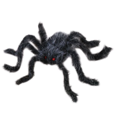 Veil Entertainment Spooky Giant Hairy Spider Decoration Prop, 20