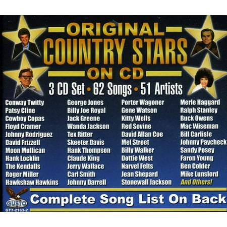Original Country Stars On CD