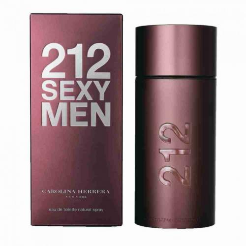 Carolina Herrera 212 Sexy Men, 3.4 Oz