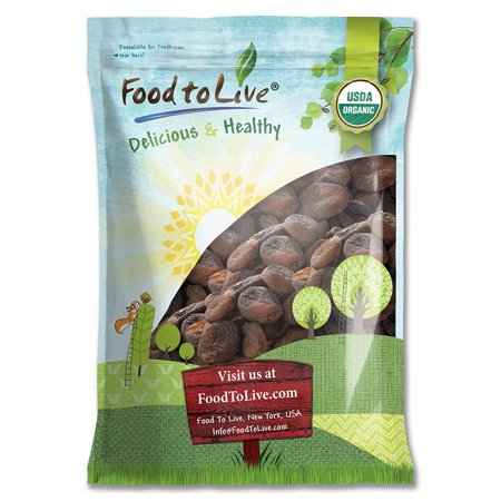Organic Dried Apricots, 14 Pounds - Kosher, Non-GMO, Organic, Raw, Vegan - by Food to Live