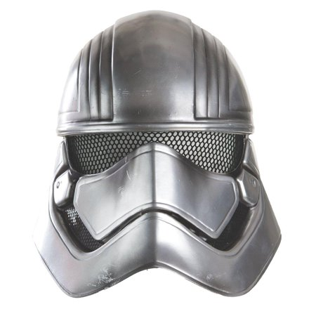 Star Wars The Force Awakens Captain Phasma Half Helmet Child Costume Accessory - image 1 de 1