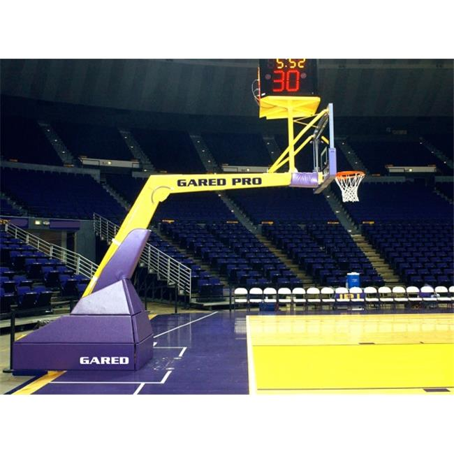 Gared Sports 5018 10 ft. 8 in. Extension Gared Pro H Portable Basketball System   FIBA Approved