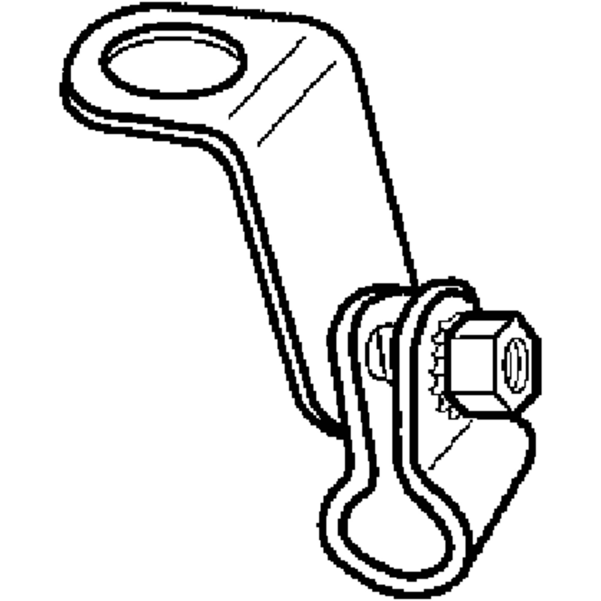 """Magma 10-164 """"L"""" Bracket and Clamp Assembly for A10-005, A10-017 and A10-105 Grills"""
