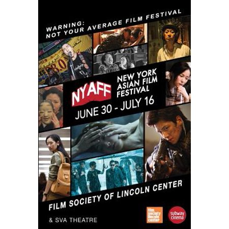 New York Asian Film Festival 2017 Program Book - New York Halloween Party 2017