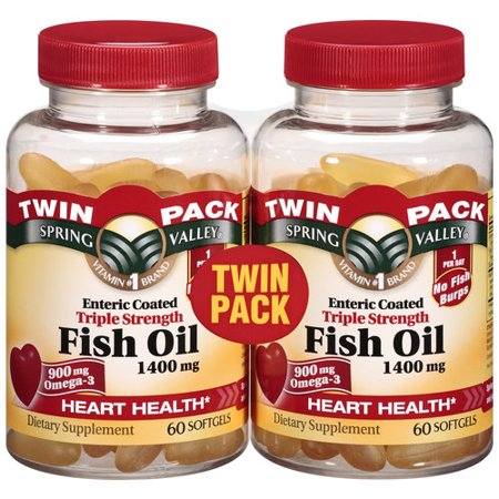 Spring valley fish oil enteric 1200mg 100ct for Spring valley fish oil review