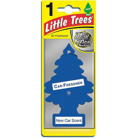 little trees car air freshener new car scent 1 ea. Black Bedroom Furniture Sets. Home Design Ideas