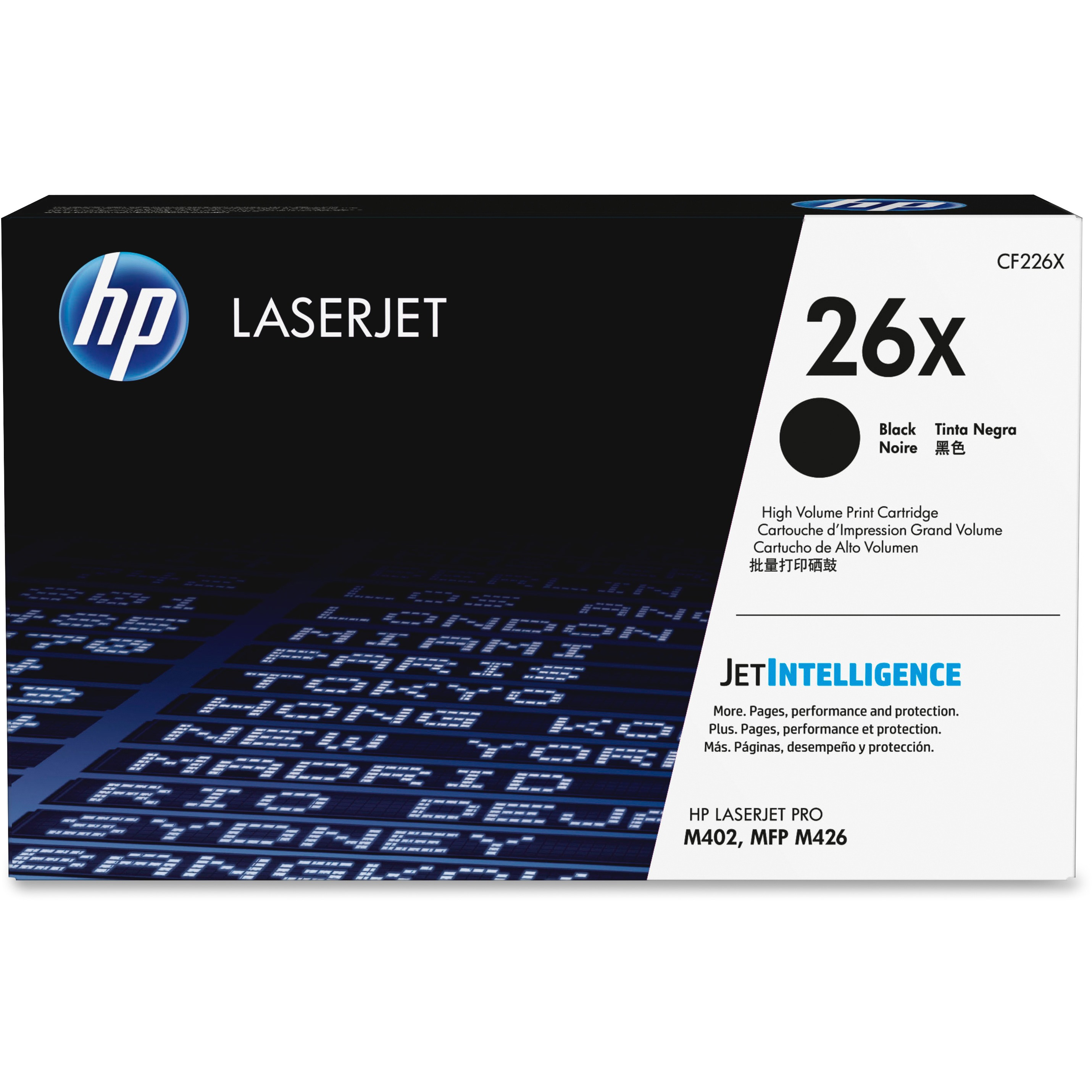 HP 26X Original Toner Cartridge - Single Pack, 1 Each (Quantity)