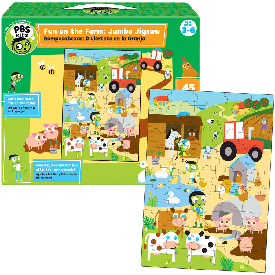 Fun on the Farm Jumbo Jigsaw Puzzle