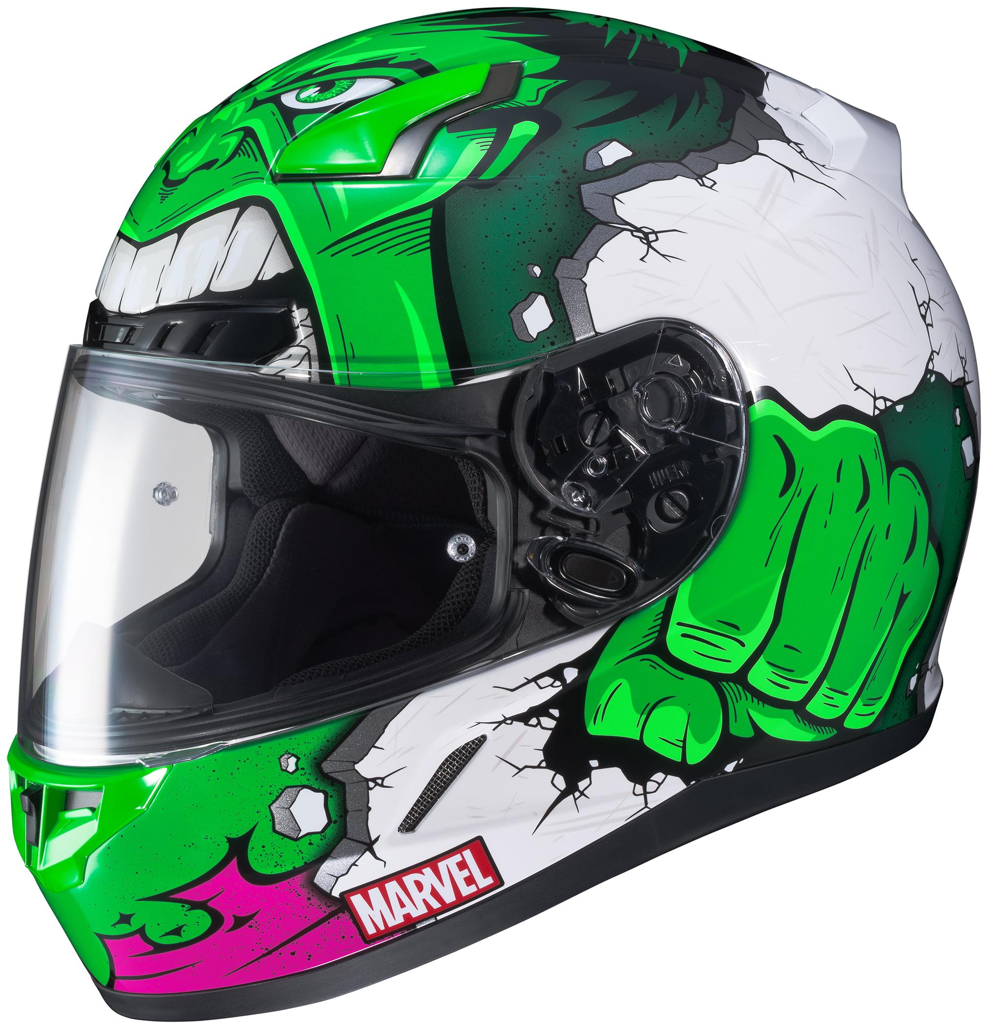 HJC CL-17 Marvel Hulk Helmet