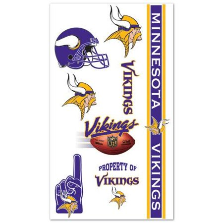 Minnesota Vikings Temporary Tattoos Walmart Com