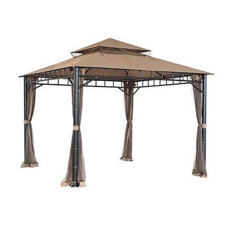 Garden Winds Replacement Canopy Top For Tiki Gazebo Riplock 350