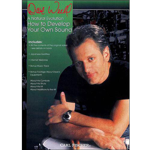 Dave Weckl A Natural Evolution: How To Develop Your Own Sound by MVD DISTRIBUTION