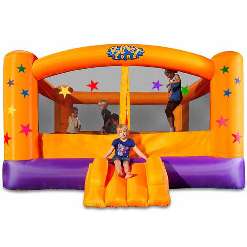 Blast Zone SuperStar Party Moonwalk Bounce House