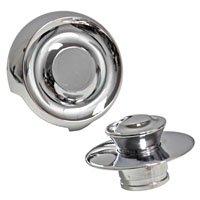 Danco 10551 Tub Drain Trim Kit, Metal, Chrome, For 1 and 2-Hole Plates 2 Pack (Metal Railing Kits)