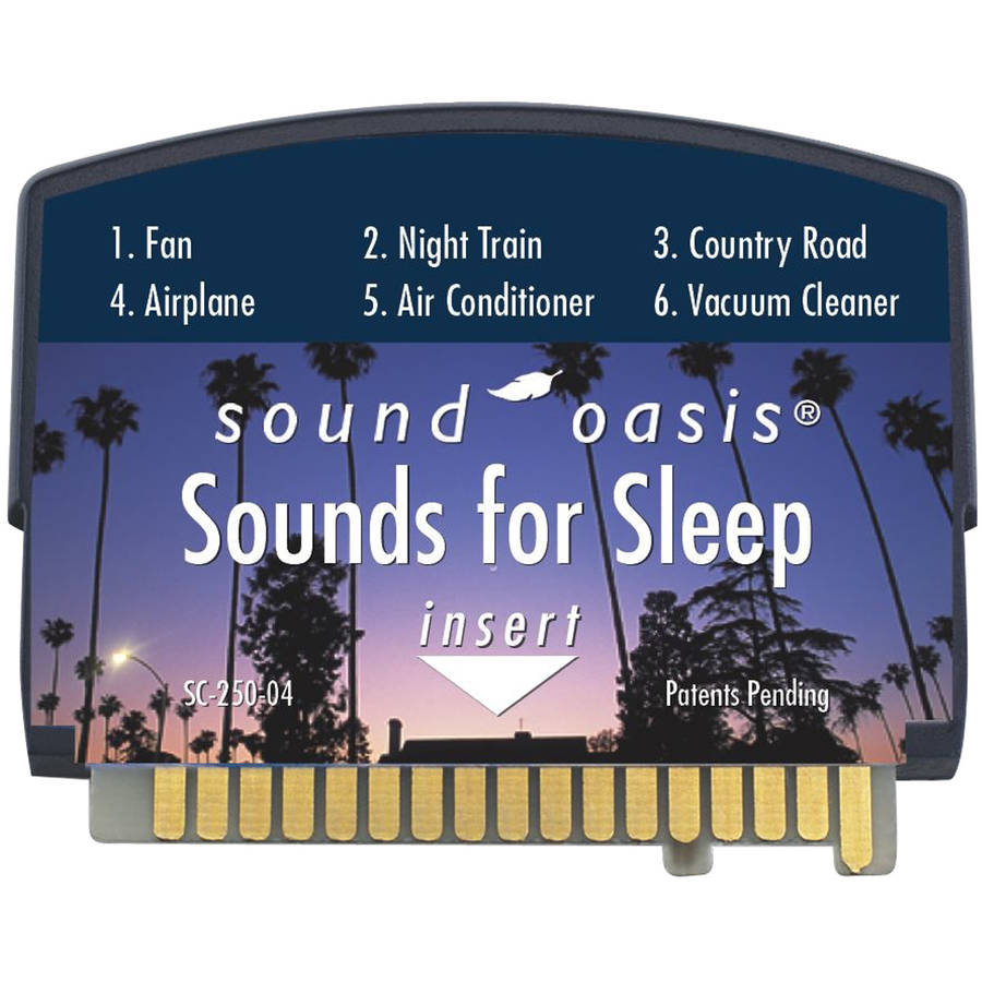 Sound Oasis Sounds For Sleep Sound Card For The S-550-05 Sound Therapy System