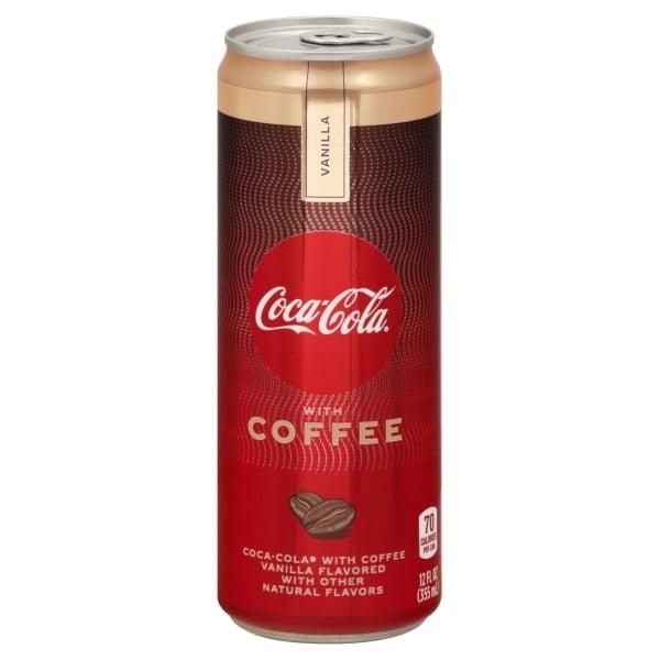 Coca-Cola with Coffee Vanilla Can, 12 fl oz