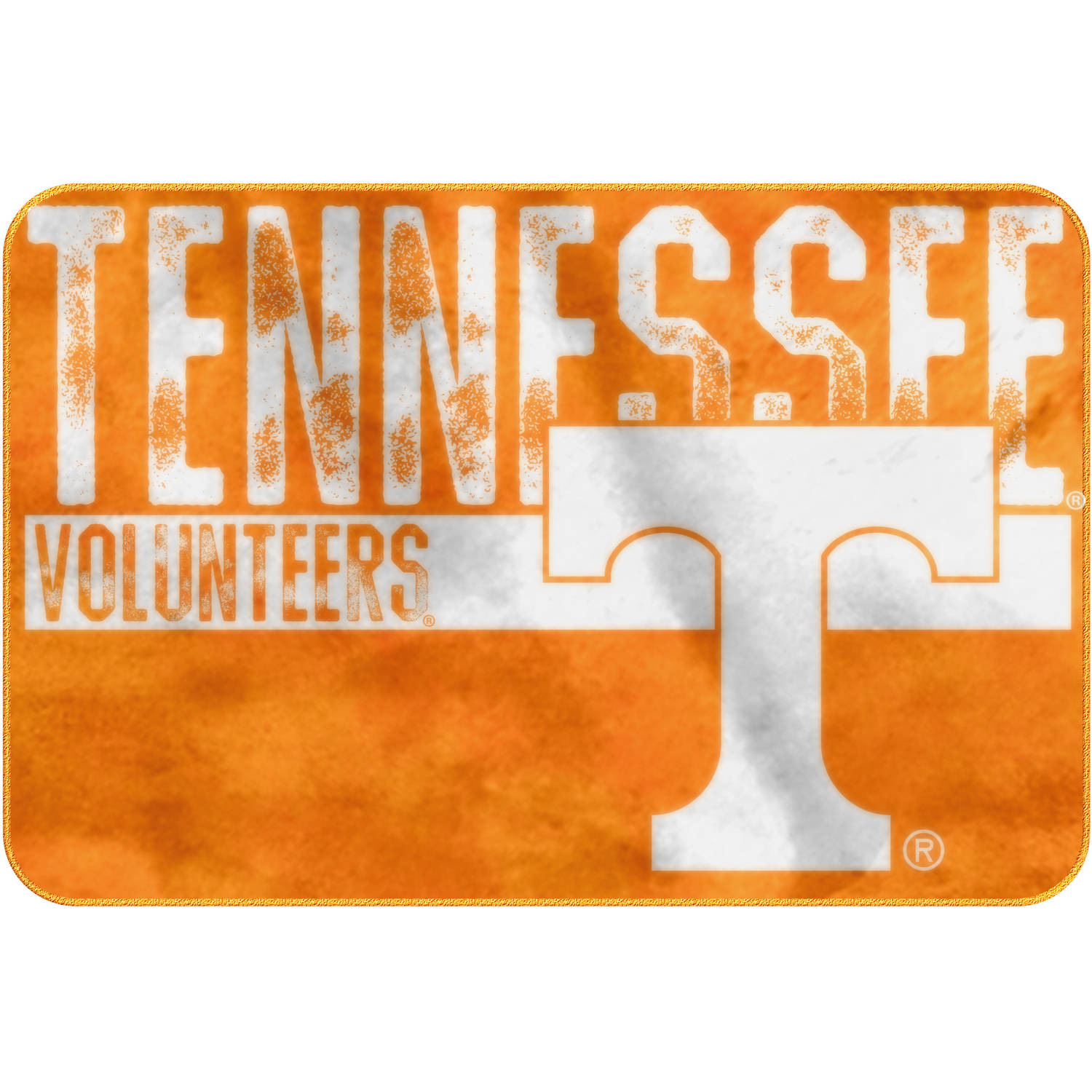 "NCAA Tennessee Volunteers 20"" x 30"" ""Worn Out"" Mat, 1 Each"