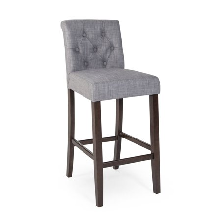 Beige Stool (Morgana Tufted Counter Stool)