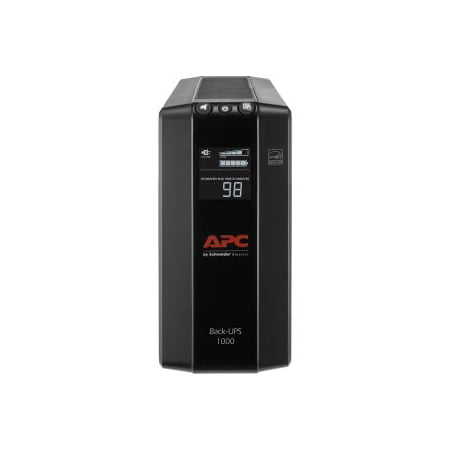 APC 1000VA Compact UPS Battery Backup & Surge Protector, Back-UPS Pro (Apc Pc Business)