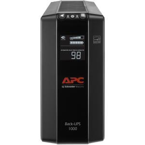 APC 1000VA Compact UPS Battery Backup & Surge Protector, Back-UPS Pro (Ups Battery Backup)