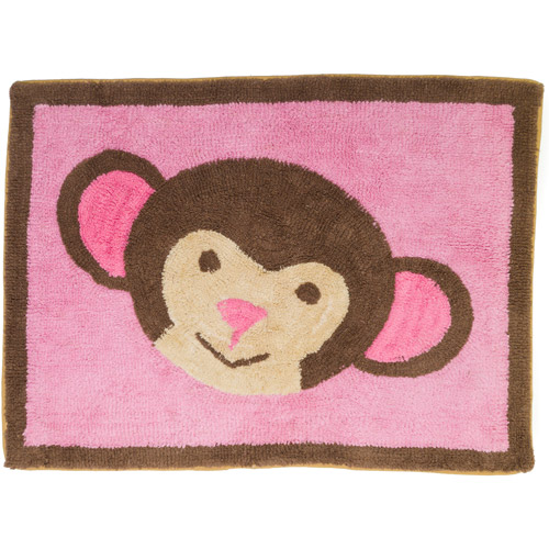 Pam Grace Creations Jolly Molly Monkey Rug