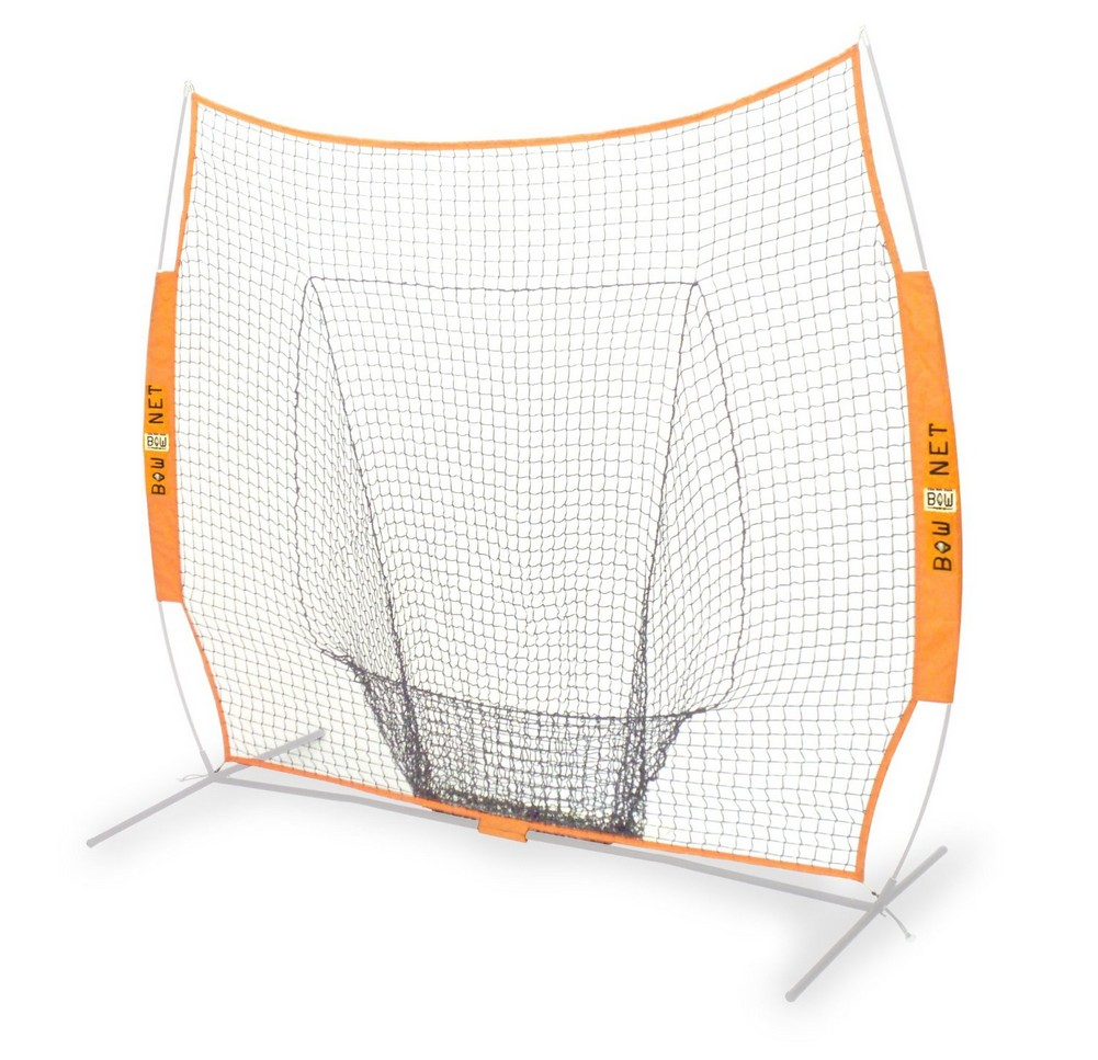 BowNet Big Mouth Replacement Net Baseball 7'x7' *NET ONLY...