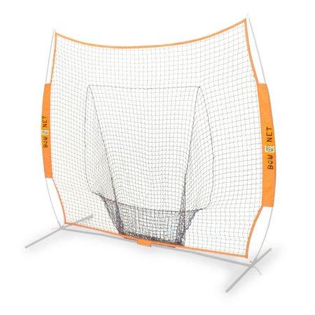 BowNet Big Mouth Replacement Net Baseball 7'x7' *NET ONLY* - (Diamond Pro Series Bownet Big Mouth Sock Net)