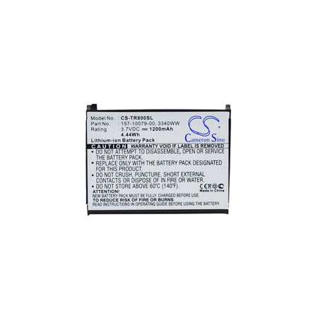 Replacement for PALM TREO 800W replacement battery