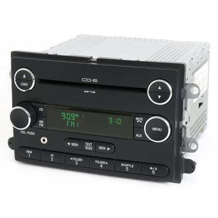 Ford Taurus 2008-09 Audiophile Radio AM FM 6 Disc CD w Aux Input 8G1T-18C815-DA - Refurbished