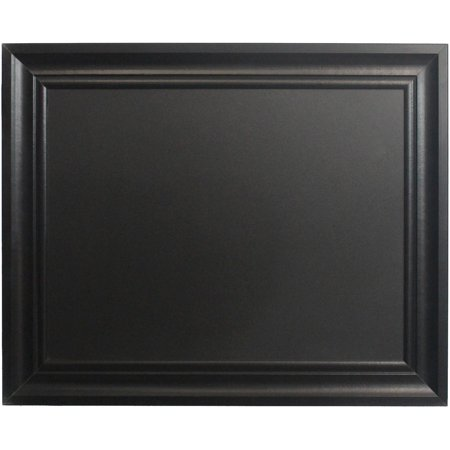 linon home 24 x 30 chalkboard with frame multiple colors. Black Bedroom Furniture Sets. Home Design Ideas