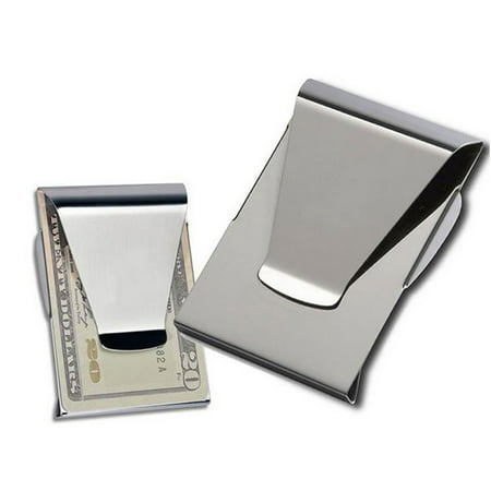 - Multifunctional Double Sided Wallet ID Slim Money Clip Card Holder
