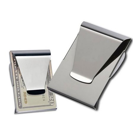 Multifunctional Double Sided Wallet ID Slim Money Clip Card Holder ()