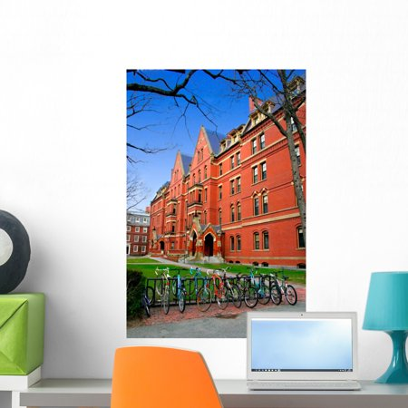 Harvard Square Wall Mural by Wallmonkeys Peel and Stick Graphic 24 in