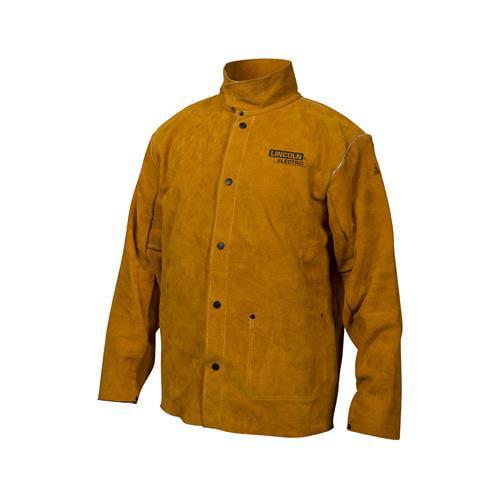 Lincoln Electric KH807XXL Leather Welding Jacket, XXL