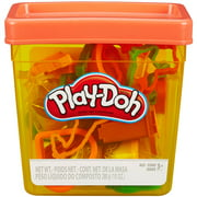 Play-Doh Fun Tub with 5 Cans of Dough & 20+ Tools (MultiColor)