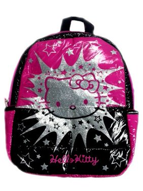 5b0980d1d29 Product Image SANRIO BACKPACK - HELLO KITTY (PINK W  BLACK SILVER STAR)