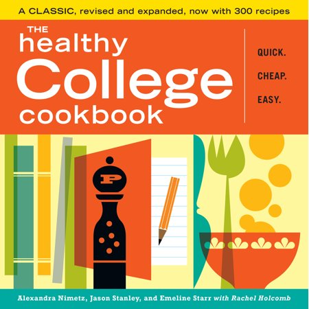 Healthy College Cookbook - Paperback (Easy Healthy Dinner Ideas For College Students)