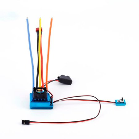 120A ESC Sensored Brushless Speed Controller For 1/8 1/10 Car/Truck Crawler