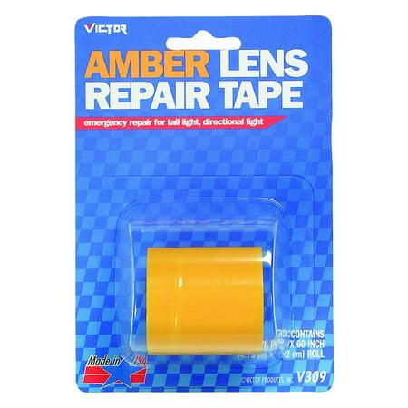 Victor V309 Lens Repair Tape, 1-7/8 in W x 5 ft L, (Lens Repair Tape)