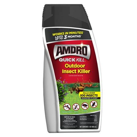Amdro Quick Kill Outdoor Insect Killer Concentrate, 1 Quart