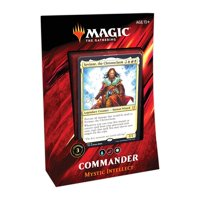 Magic: The Gathering Commander 2019 Mystic Intellect Deck | 100-Card Ready-to-Play Deck | 3 Foil Commanders | Factory Sealed