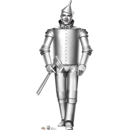 Wizard of Oz Classic Tin Man Lifesize Standup Standee Cardboard Cutout