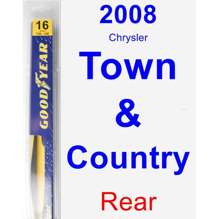 2008 Chrysler Town & Country Rear Wiper Blade -