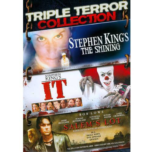 Stephen King Triple Terror Collection: It / The Shining / Salem's Lot (Widescreen)
